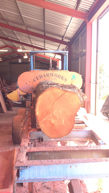 cedarworks timber machining process
