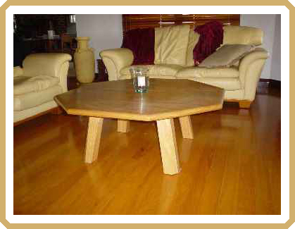 Silky Oak coffee table