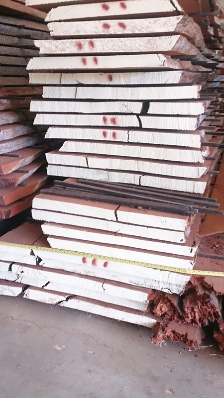 various fine furniture timber slabs